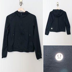 🎈Lululemon Blk/Grey Women's Run Jacket -SZ Small